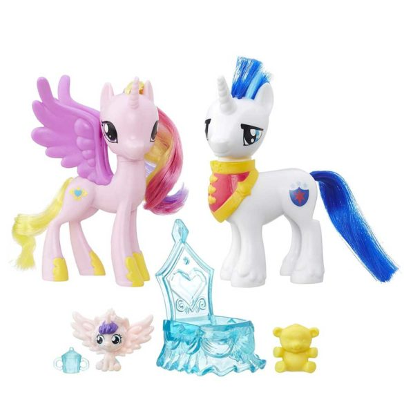 My Little Pony Pachetul Prieteniei Printesa Cadence si Shining Armor