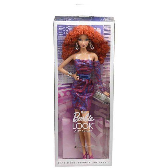 Papusa de Colectie Barbie Look City Shine Roscata 5