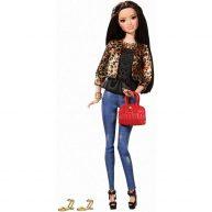 Stilul Papusii Barbie - Raquelle cu Gecuta Leopard