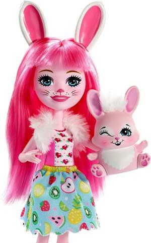 Enchantimals Papusa Bree Bunny FXM73