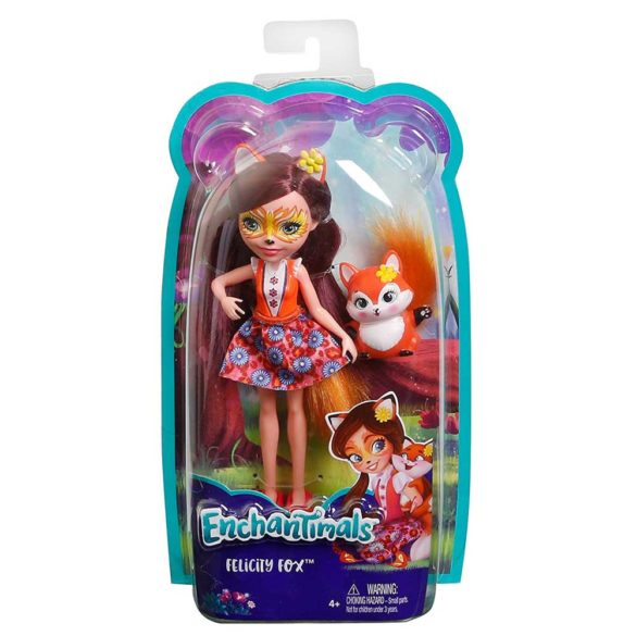 Enchantimals Papusa Felicity Fox 8