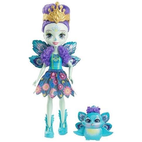 Enchantimals Papusa Patter Peacock