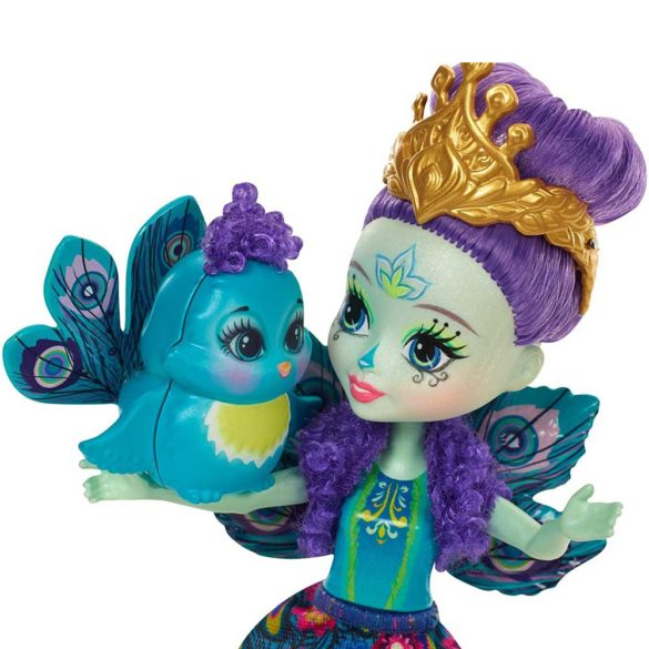 Enchantimals Papusa Patter Peacock 3