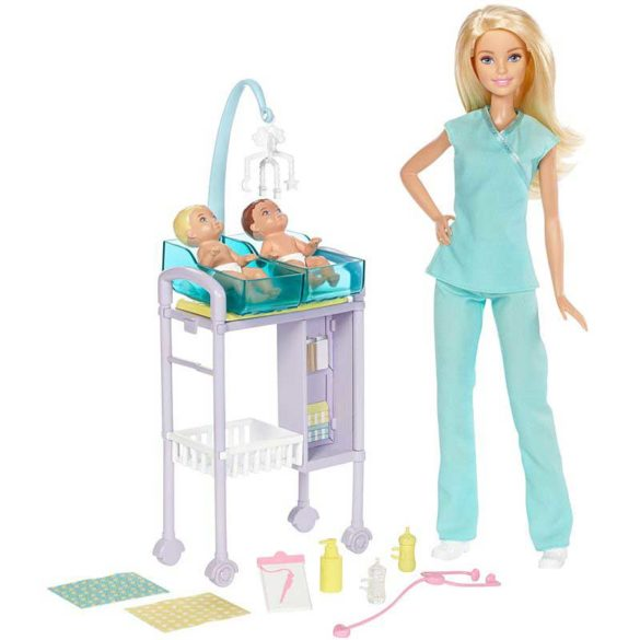 Papusa Barbie si Setul de Joaca la Doctor 2