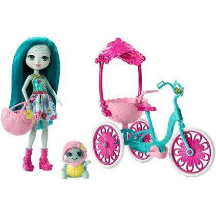 Set de Joaca Enchantimals Bicicleta pentru doi
