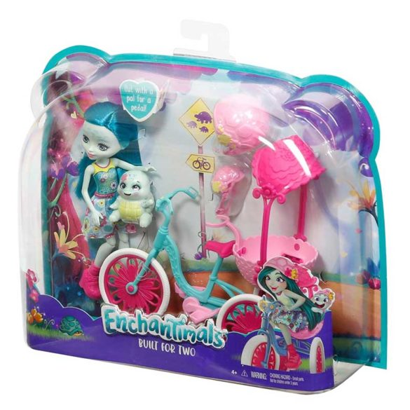 Set de Joaca Enchantimals Bicicleta pentru doi 8