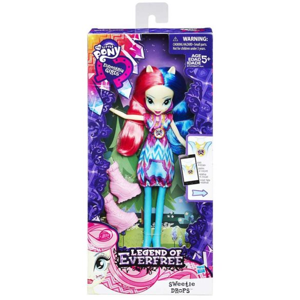 My Little Pony Legend Of Everfree Papusa Sweetie Drops 2