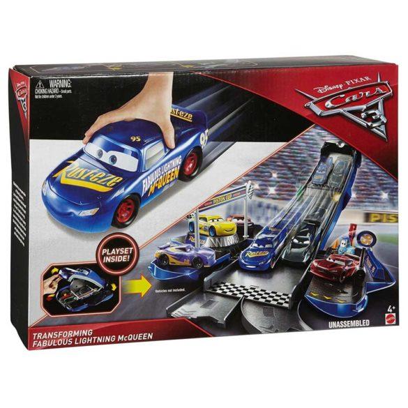 Cars 3 Set de Joaca Transformarea Fabulosul Lightning McQueen 7