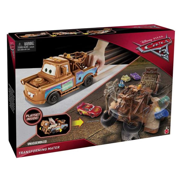 Cars 3 Set de Joaca Transformarea Mater 9