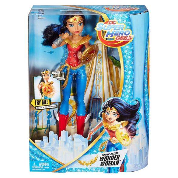 DC Super Hero Girls Papusa Wonder Woman Sunete si Lumini 9