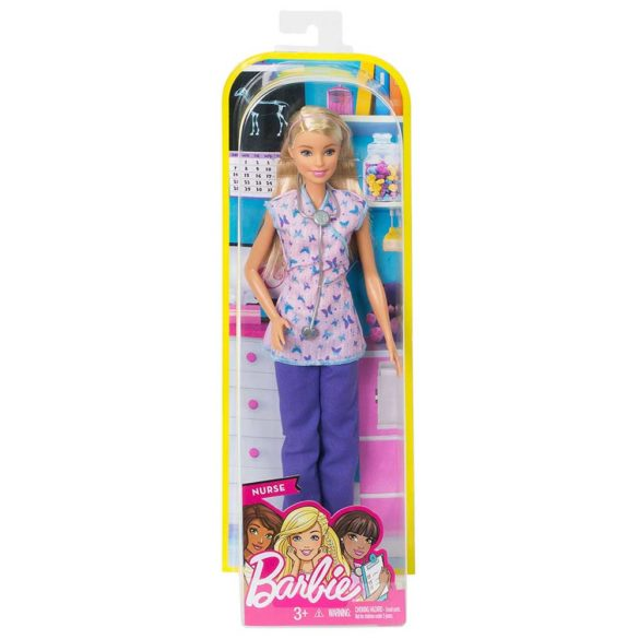 Papusa Barbie Asistenta Medicala 5