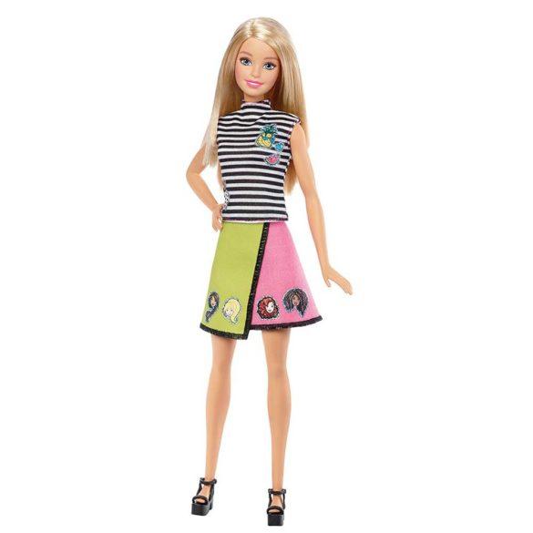 Papusa Barbie D.I.Y. Stilul Emoji Blonda 3