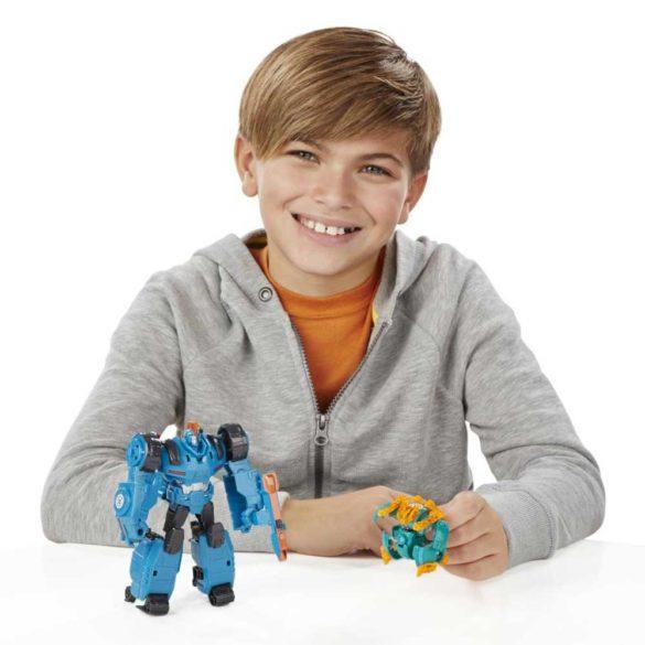 Transformers Deghizarea Robotilor Mini Con Overload 3
