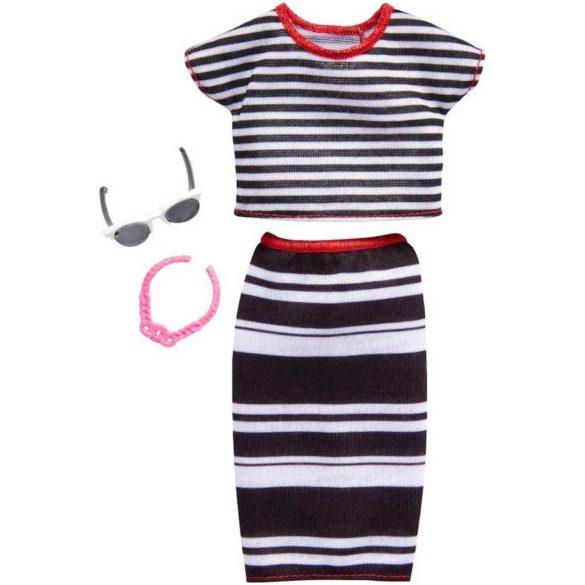 Barbie Tinuta Completa Stilul cu Dungulite Vesele FKR97 1
