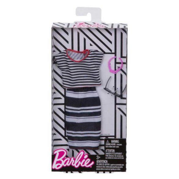 Barbie Tinuta Completa Stilul cu Dungulite Vesele FKR97 5