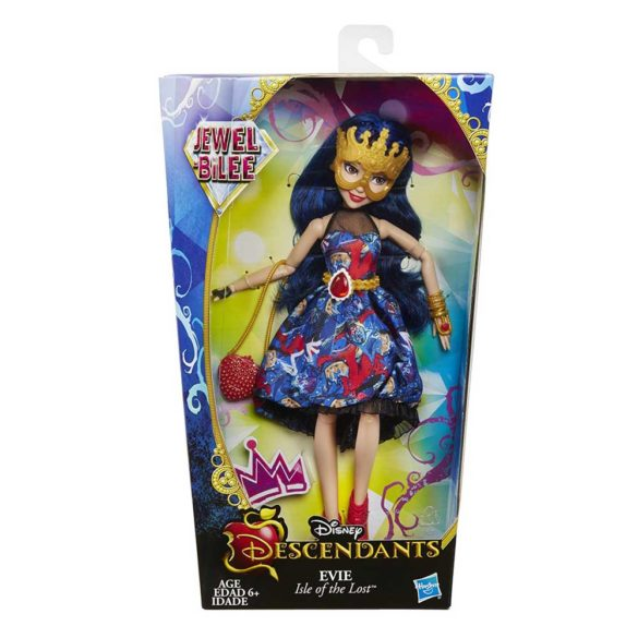 Disney Descendants Jewel Bilee Papusa Evie 10