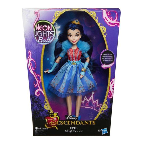 Disney Descendants Neon Lights Papusa Evie 10
