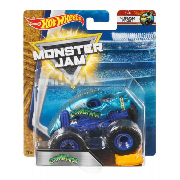 Masinuta Monster Jam Crush Station cu Obstacol 2