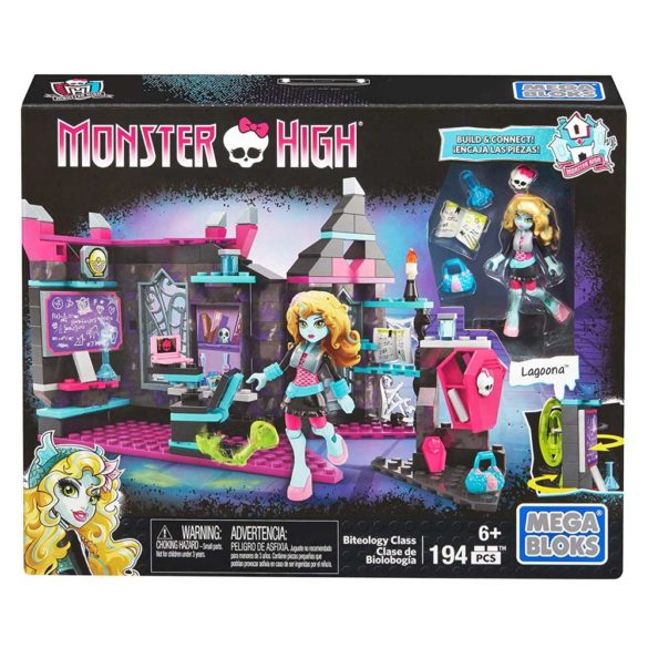 Mega Bloks Monster High Ora de Biologie 9