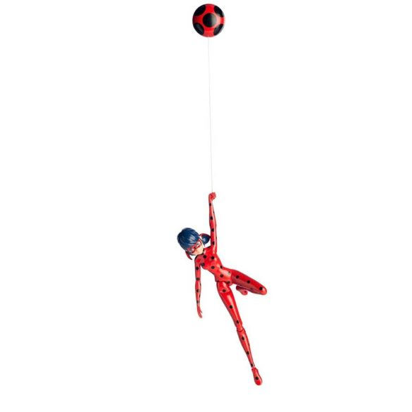 Miraculous Papusa Figurina Jump and Fly Ladybug 4