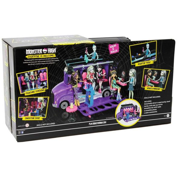 Monster High Autobuzul de Lux 11