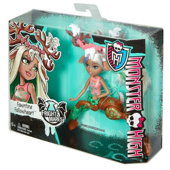 Monster High Fright Mares Papusa Fawntine Fallowheart 5