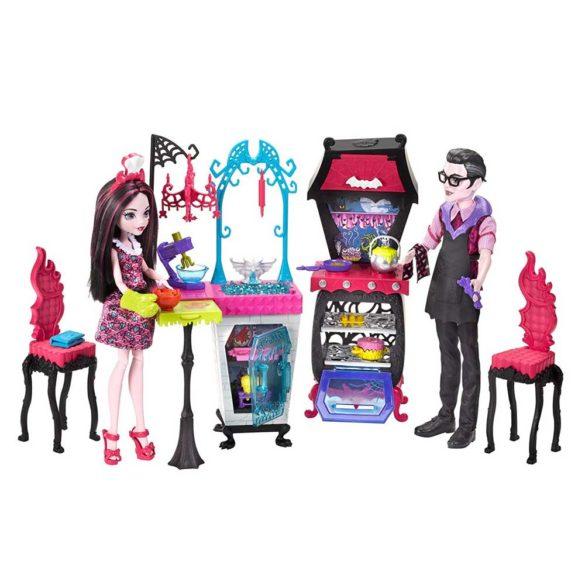 Monster High Bucataria Vampirilor Set de Joaca si Doua Papusi 1