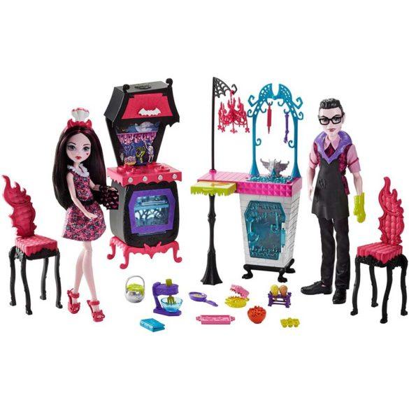 Monster High Bucataria Vampirilor Set de Joaca si Doua Papusi 2