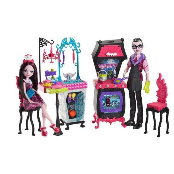 Monster High Bucataria Vampirilor Set de Joaca si Doua Papusi 3