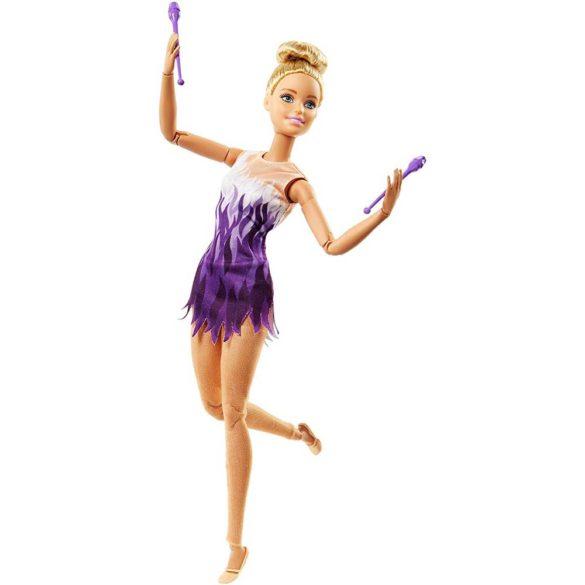 Papusa Barbie Made to Move Gimnasta 1