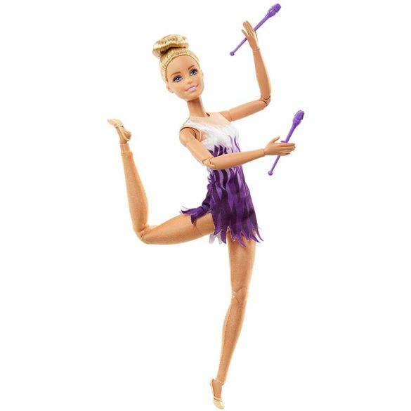 Papusa Barbie Made to Move Gimnasta 3