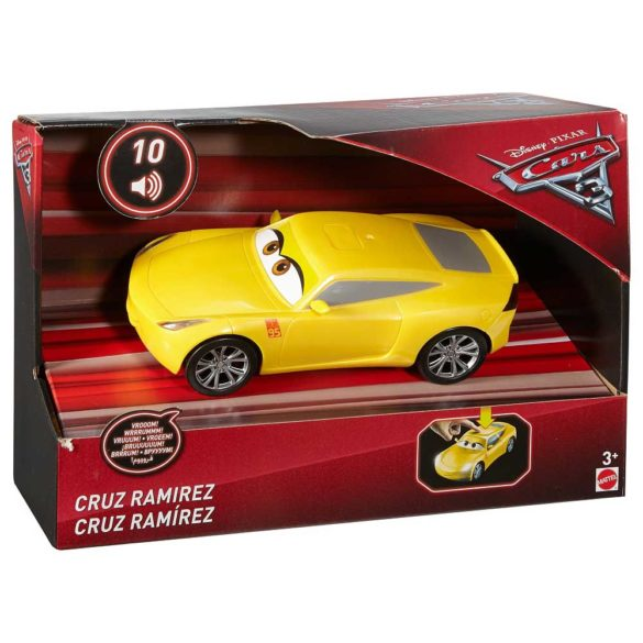 Disney Cars 3 Masinuta cu sunete si lumini Cruz Ramirez 5