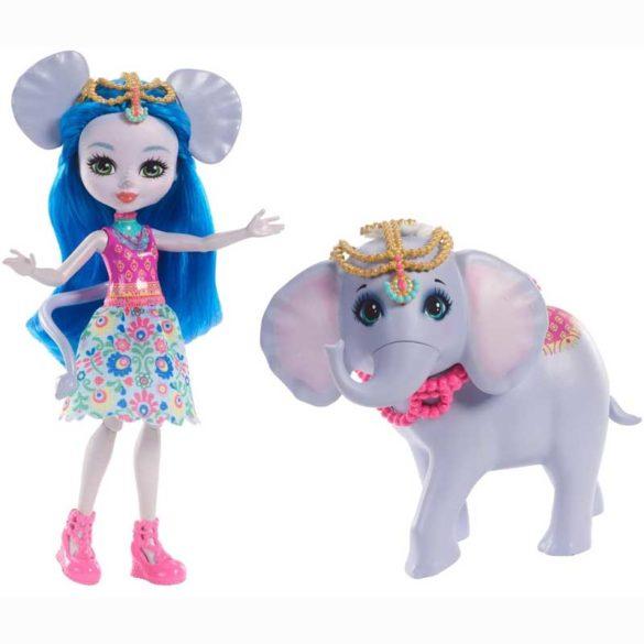 Enchantimals Papusa Ekaterina Elephant si Elefantul Antic
