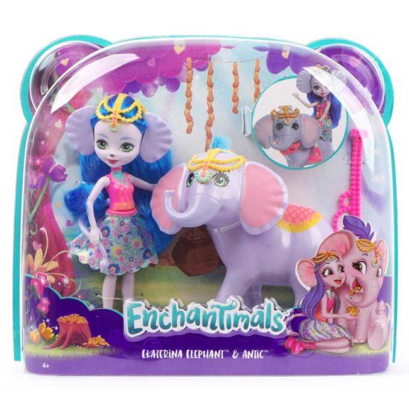 Enchantimals Papusa Ekaterina Elephant si Elefantul Antic 10