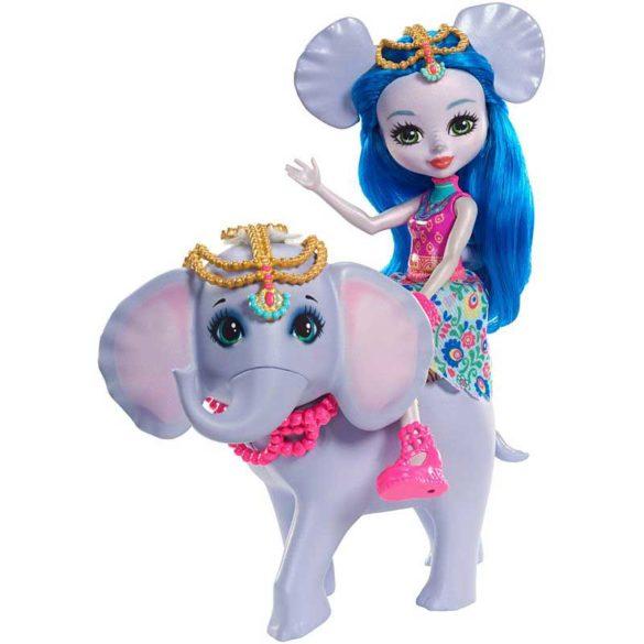 Enchantimals Papusa Ekaterina Elephant si Elefantul Antic 2