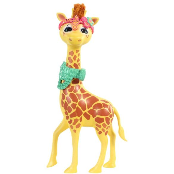 Enchantimals Papusa Gillian Giraffe si Girafa Pawl 2