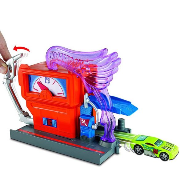 Hot Wheels City Statia de incarcare Benzinaria 2