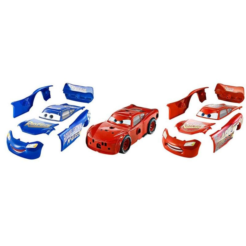 Masina Mattel Fulger McQueen 3 in 1 Charge and Race