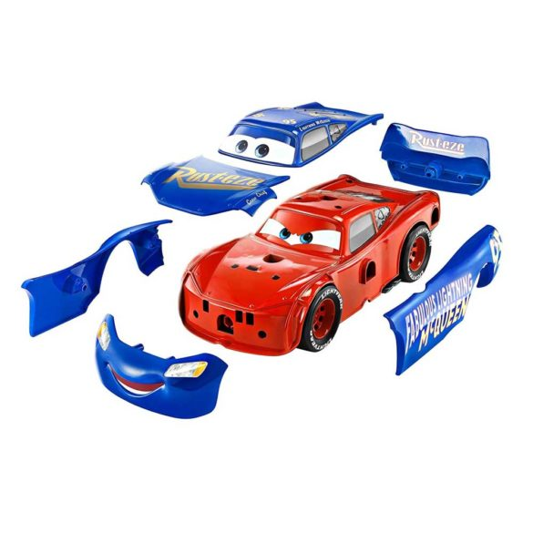 Masina Mattel Fulger McQueen 3 in 1 Charge and Race 3