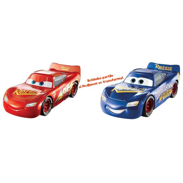 Masina Mattel Fulger McQueen 3 in 1 Charge and Race 4