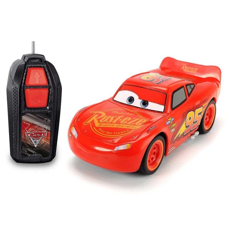 Masinuta radiocomandata de jucarie Fulger McQueen Cars 3