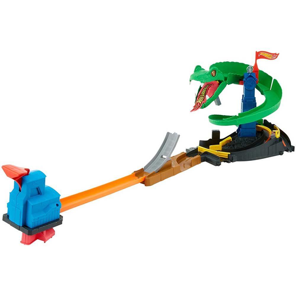Set de joaca Mattel Hot Wheels City Pista Cobra Crush