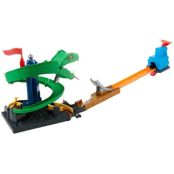 Set de joaca Mattel Hot Wheels City Pista Cobra Crush 2
