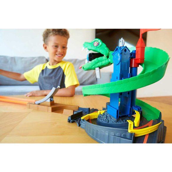 Set de joaca Mattel Hot Wheels City Pista Cobra Crush 6