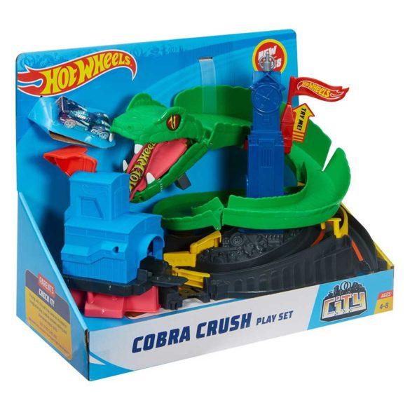 Set de joaca Mattel Hot Wheels City Pista Cobra Crush 7