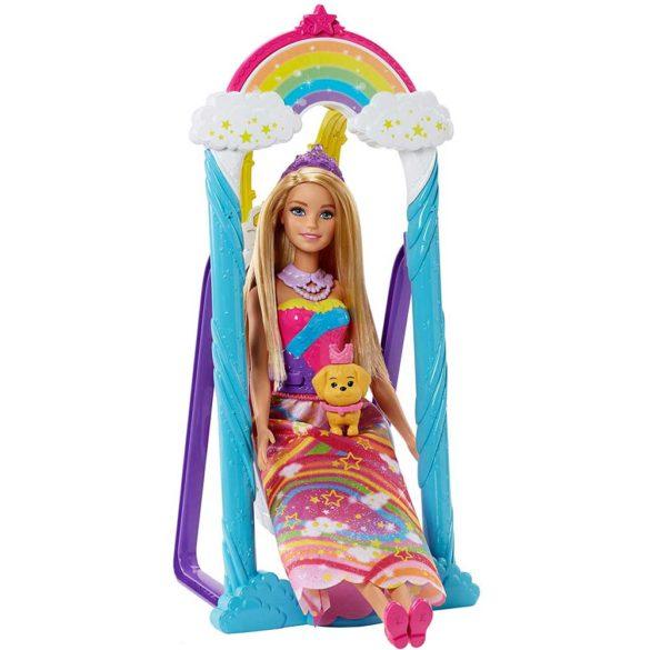 Barbie Dreamtopia Papusa si Leaganul Curcubeu 2