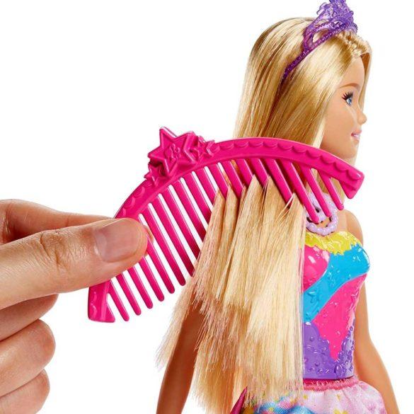 Barbie Dreamtopia Papusa si Leaganul Curcubeu 6