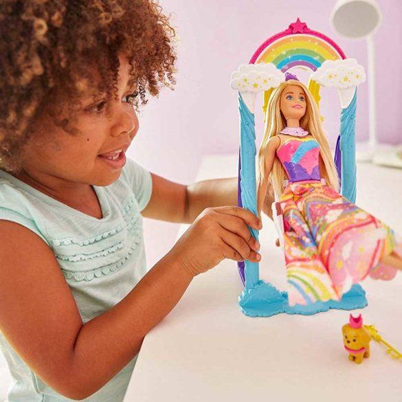Barbie Dreamtopia Papusa si Leaganul Curcubeu 8