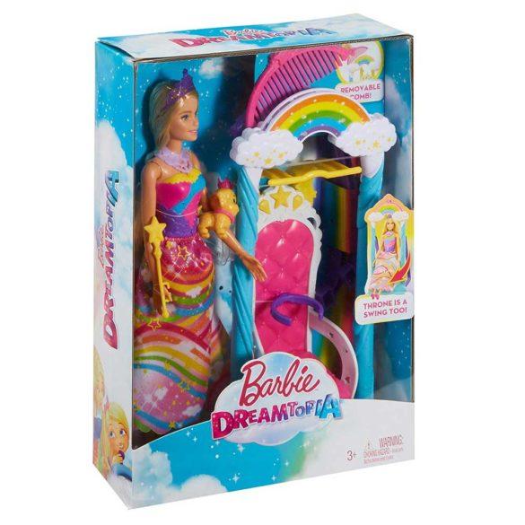 Barbie Dreamtopia Papusa si Leaganul Curcubeu 9
