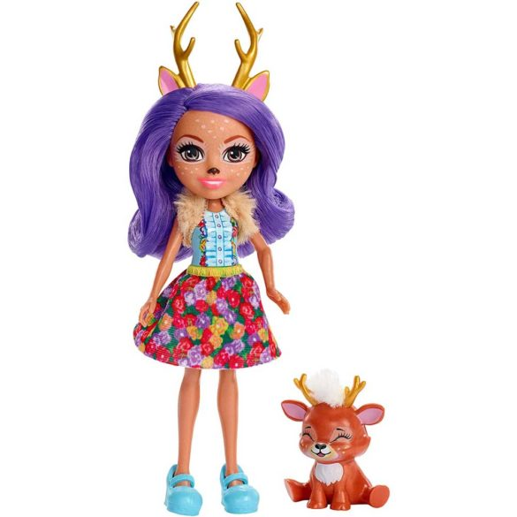 Enchantimals Papusa Danessa Deer FXM75 2